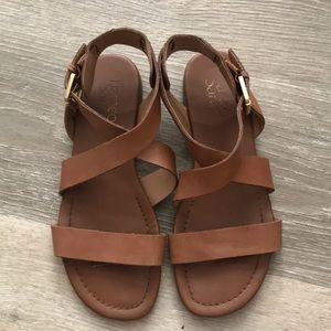 Brown Franco Sarto sandals